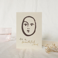 Wanderlust Paper Co. 'Beautiful Soul' Card